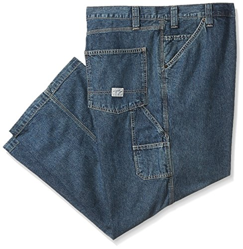 Big Tall Mens Jeans (Signature by Levi Strauss & Co. Gold Label Men's Big and Tall Carpenter Jeans, Clement, 46W x 30L)