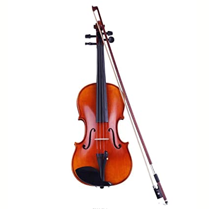 Amazon.com - Violins Violin 4/4 Solo Or Ensemble Instruments Fiddles Wonderful Gifts for Kids Or Adults Maple Wood Super Sound Violins Fiddle (Color : 4/4) ...