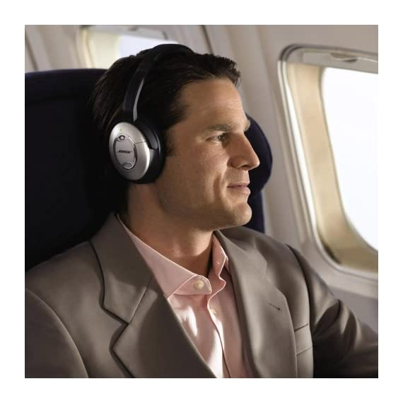 Bose QuietComfort 15 Acoustic Noise Cancelling Headphones (Discontinued by Manufacturer) 9 The best around-ear Bose headphones reduce noise across a wide range of frequencies. Connectivity Technology: Wired/Wireless Enjoy music and movies with clear and lifelike sound Comfortable, around-the-ear fit; ideal for frequent flyers