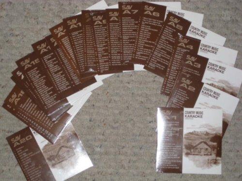 19 Disk Karaoke CDG CLASSIC COUNTRY Set SAVA CD Pack - Midi Files Lyrics