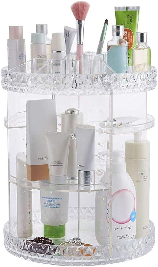 Diafrican Caja organizadora de maquillaje, organizador de ...