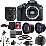 Canon EOS Rebel 1300D/T6 Digital SLR Camera + 64GB Accessory Kit