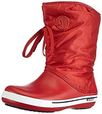 Amazon.com   Crocs Women's Crocband II.5 Lace Boot   Snow