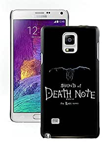 Samsung Note 4 Case,Death Note For Samsung Note 4 Black Case Cover