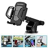 lock para autos - Car Phone Holder, Smartphone Accessories Mount Stand Soporte Celular para Auto - 360° Rotation