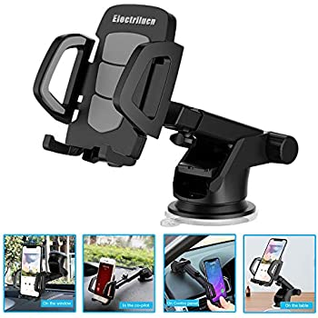 Car Phone Holder, Smartphone Accessories Mount Stand Soporte Celular para Auto - 360° Rotation