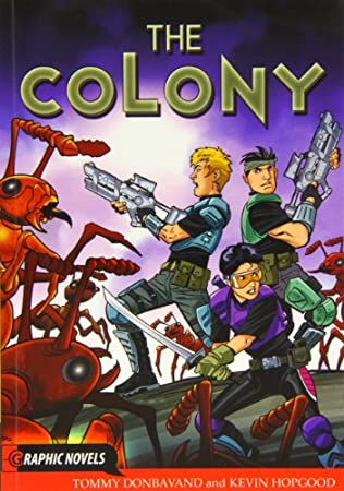 book cover of The Colony