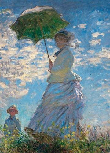 (Woman with a Parasol Notebook)