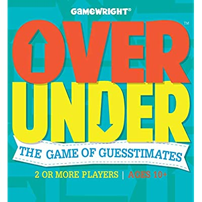 Over/Under - The Game of Guesstimates, Standard Packaging: Toys & Games