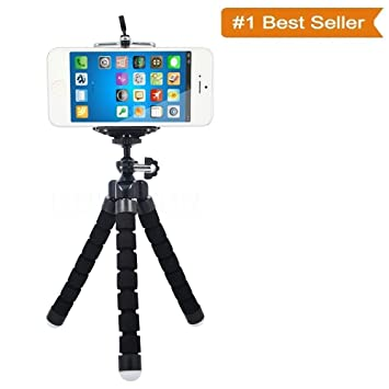 33c5a373c55 Buy Techartz Universal Flexible Octopus Style Tripod with Universal Mobile  Monopod Mount Adapter   Long Screw Mobile Holder (Colors as Available)  Online at ...