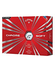 Callaway Chrome Soft 2016 Golf Balls, White