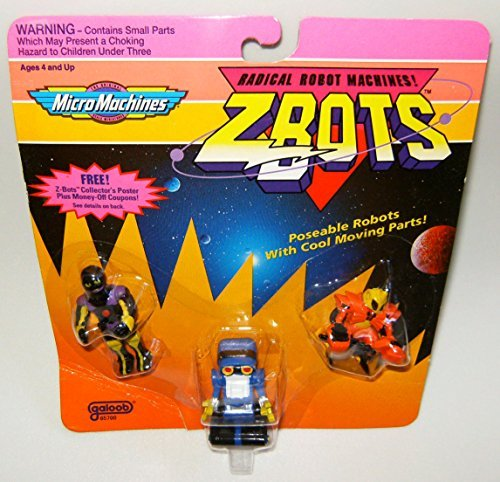 Used, Micro Machines ZBots (Z-bots) 3 Pack #18 for sale  Delivered anywhere in USA