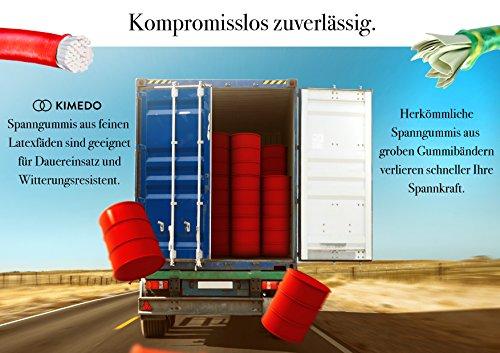 Nordlight Gepäckspanner Mit Haken 16er Set - Extra Stark In 4 Größen (20 cm, 35 cm, 50 cm, 65 cm) Reißfest Und Robust…