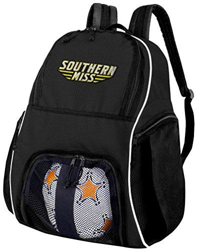 Broad Bay Southern Miss Soccer Backpack or USM Golden Eagles Volleyball Bag by Broad Bay
