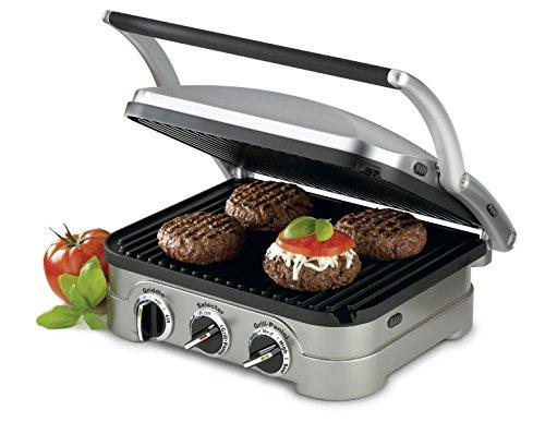 Cuisinart GR-4NAMZ Griddler, Stainless Steel by Cuisinart (Image #2)