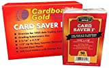 Card Saver 1 - Semi Rigid Card Holder for Graded