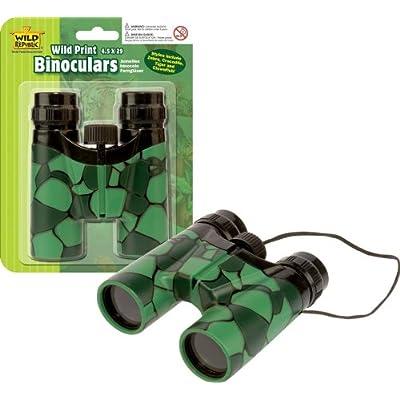 Wild Republic Wild Print Binoculars Crocodile Print: Toys & Games
