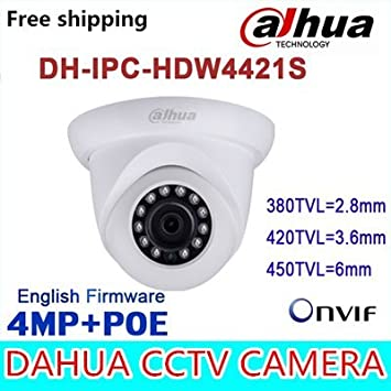 Cámara ARBUYSHOP original Dahua IPC-HDW4421S IP IR torreta de 4 MP Red Full HD