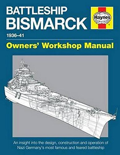 Battleship Bismarck Manual 1936-41: An insight into the design, contruction and operation of Nazi Germany's most famous and feared battleship (Owners' Workshop Manual) - German Workshop