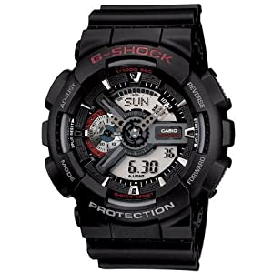 Casio Men's G-SHOCK – The GA 100-1A1 Military Series Watch in Black