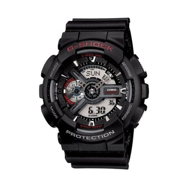 Casio Men's G-SHOCK – The GA 100-1A1 Military Series Watch in Black