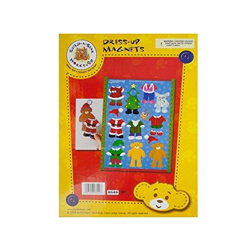 Kole Imports Build-A-Bear Christmas Dress-Up Magnets Multicolored from Kole Imports