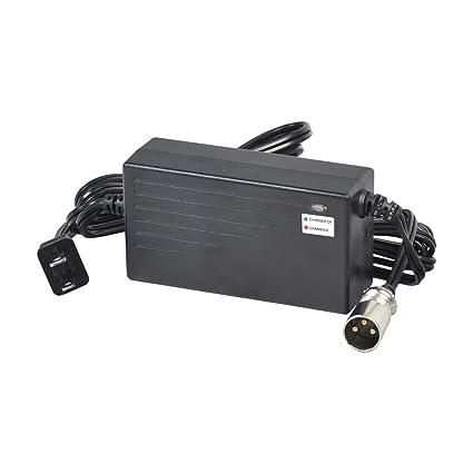 Amazon.com: Alvey 36 Volt 1.6 Amp XLR Cargador de batería ...
