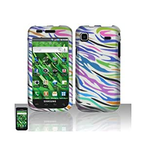 Colorful Zebra Hard Cover Case for Samsung Galaxy S Vibrant 4G SGH-T959 SGH-T959V