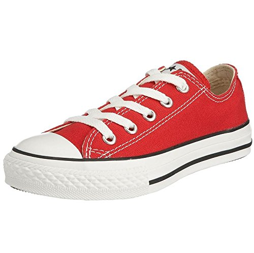 Chuck de Star Zapatillas Infantil Converse Lona All Red Taylor qgSdxWwX