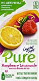 Crystal Light Pure Raspberry Lemonade On The Go Drink Mix, 7-Packet Box (28 Box Pack)