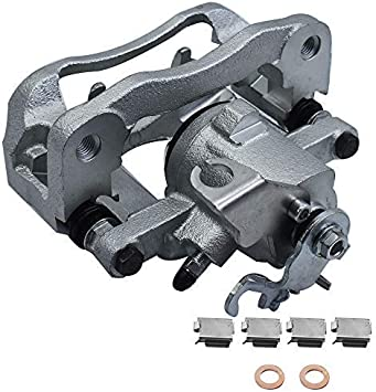 A-Premium Brake Caliper with Bracket Compatible with Chrysler Town /& Country Dodge Grand Caravan Ram C//V Volkswagen Routan Front Side 2-PC Set