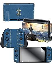 Controller Gear Nintendo Switch Skin & Screen Protector Set, Officially Licensed by Nintendo - The Legend of Zelda - Nintendo Switch; SKNINSBGS-00ZLZ