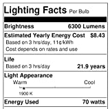 Sylvania 67504 E17 LU70 75-Watt High Pressure