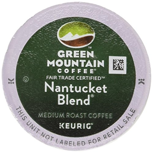 Green Mountain Coffee K-Cups, Nantucket Blend(melange) K-Cup Ration Pack for Keurig Brewers 96-Count