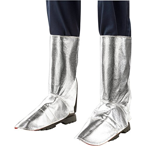 Steiner 184AS Aluminized Kevlar Legging,  H-Leg Cover, 9-Inch Shoe Flare, 15-Inch Kevlar Protective Clothing