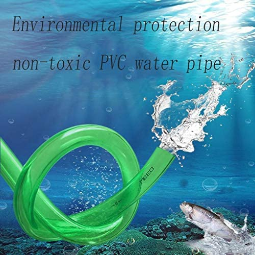 Caixia Beef Tendon Hose PVC Flexible Water Pipe Household Water Pipe Fish Tank Water Tank Water Garden Watering (Size : 10m)