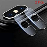 Ugood 2019 2X Back Rear Camera Lens Fibre Glass Screen Film Protector For iPhone XS/XS Max (For iPhone XS Max)