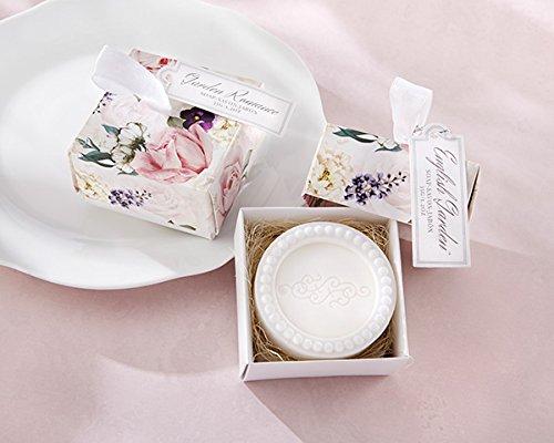 50 English Garden Soap In Floral Box