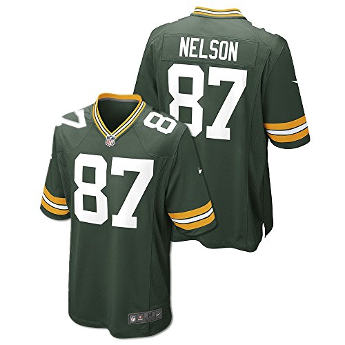 Jordy Nelson Green Bay Packers Youth Game Jersey (Green) ()