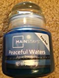 Best Mainstay Mainstays Candle Scents - Mainstays - Peaceful Waters Scent - 3 Oz Review