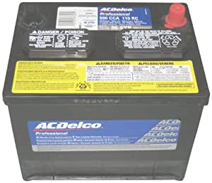 ACDelco - Professional 86-6YR 72 Month Wet Battery