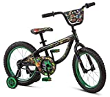 ninja bikes for kids - Teenage Mutant Ninja Turtles R0624SC Boy's Bicycle, Black, 16