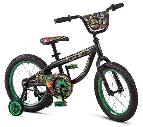 Teenage Mutant Ninja Turtles R0624SC Boy's Bicycle, Black, 16