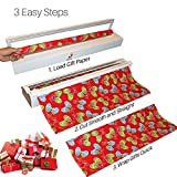 Gift-Wrap Cutter Cuts Wrapping Paper Quick and Easy