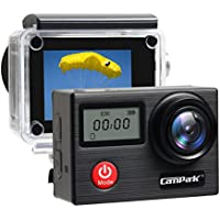 Campark X20 4K Action Camera Touch Screen 20MP SONY Image Sensor,Waterproof Sports Camera, WIFI, Dual LCD, Remote control, EIS, Accessories Kit