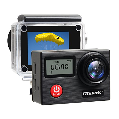 Campark X20 4K Action Camera Touch Screen 20MP SONY Image Sensor,Waterproof Sports Camera, WIFI, Dual LCD, Remote control, EIS, Accessories Kit Action Cameras CAMPARK