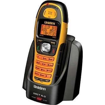 Uniden WXI2077 DECT 6.0 Digital Resistente al Agua Teléfono inalámbrico con identificador de Llamadas: Amazon.es: Electrónica