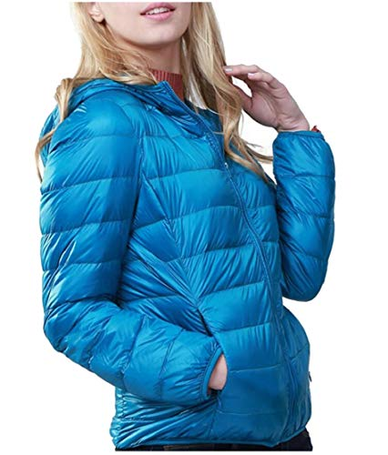 Women's Jackets Lightweight Packable Down Coat Winter Outwears EKU Down Hooded 7 a8xpqywd