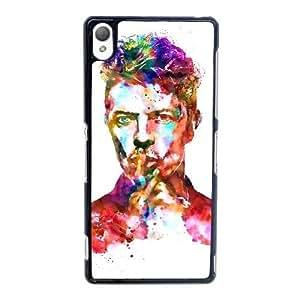 David Bowie V5V8Md Funda Sony Xperia Z3 caja del teléfono celular Funda Negro A0O7MZ Design Retorno del teléfono celular Funda Caso