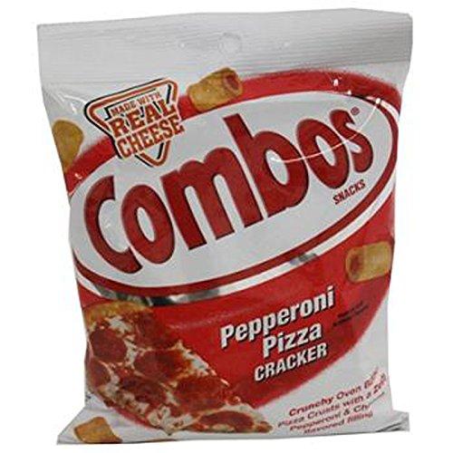 Combos Pepperoni Pizza Cracker, 1 Count (SNACKS - PRETZELS/PRETZEL MIX)